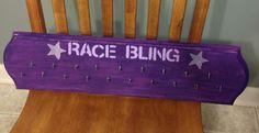 My race medal hanger.