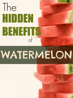 Watermelon, oh watermelon, your health benefits are endless and you taste fabulous in recipes like these!