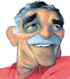 Gabriel Garcia Marquez turns eighty. Gabriel Garcia Marquez, Funny Celebrity Pics, Celebrity Pictures, Celebrity Caricatures, Spanish Painters, Funny Faces, Color Mixing, Illustration Art, Sketches