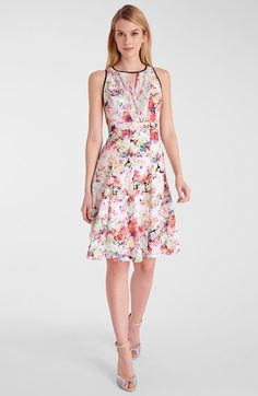 Catherine Catherine Malandrino 'Maxime' Fit & Flare Dress available at #Nordstrom
