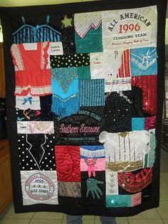 Teresa's Creations: Dance Costume Quilt