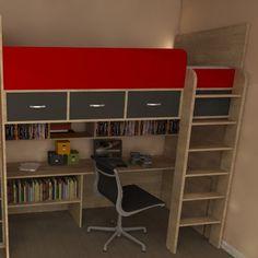 Bunk Bed Computer Desk - Foter                                                                                                                                                                                 More
