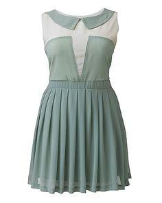 Cutie Peter Pan Colour Block Dress