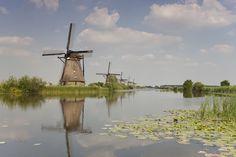 Hollands fotobehang-tintje in de lunch room ;-)