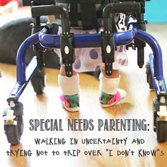 """tripping over the """"I don't know""""s in special needs parenting - Special Needs Parenting"""