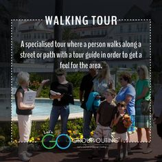 Did you know the #travelterm Walking Tour??? #GoGroupOuting #GroupOuting