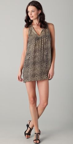 Parker Sequined Tank dress...need for the summer!