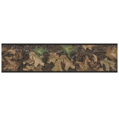 Put the finishing touch on any room with a hunting theme with this officially licensed Mossy Oak® peel & stick camouflage border. Hunters and hunting enthusiasts alike will love the way this authentic border looks on their walls. Camo Wallpaper, Peel And Stick Wallpaper, Wallpaper Borders, Camouflage Wallpaper, Wallpaper Decor, Camo Rooms, Wall Appliques, Mossy Oak Camo, Wall Borders