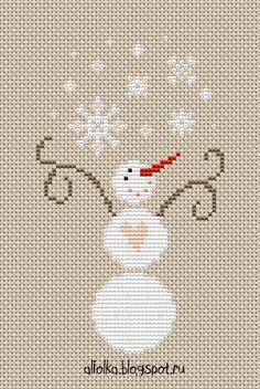 Ловим снег вместе с моими снеговиками??!         Первый снеговик с танцующей походкой   спешит поймать самые крупные снежинки!      ...