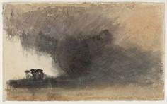 """Joseph Mallord William Turner, """"Duddon Sands, Cumbria"""" c.1825-32"""