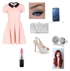 """""""Aleena party outfit!"""" by eviehartleytull on Polyvore featuring Lauren Lorraine, Chamilia and MAC Cosmetics"""