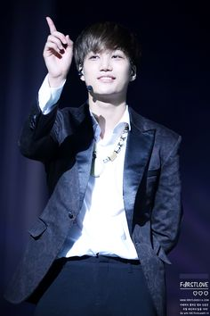 Kai - 140718 EXO from Exoplanet #1 - The Lost Planet in Shanghai - 90/97 Credit: First Love.