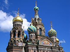 Church of the Saivor on Blood, St Petersburg, Russia