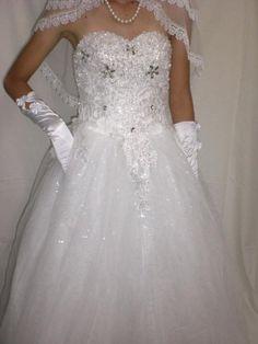 Amazon.co.jp: 花嫁を引き立たせる超豪華ウエディングドレス: 服&ファッション小物