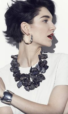 #1 on Neiman Marcus Customer Favorite List this week - Nest Black Jasper necklace. Get yours at www.NeimanMarcus.com