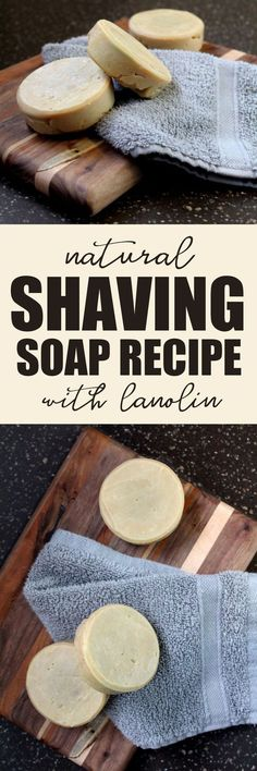 Natural Shaving Soap Recipe for an Eco-friendly Shave Natural Shaving Soap Recipe with Hydrating Lanolin and Neem Oil to Promote Skin Health! Easy cold process shaving soap recipe for your natural skin care routine. Making the Diy Cosmetic, Diy Savon, Natural Beauty Recipes, Natural Recipe, Shaving Soap, Shaving Cream, Homemade Soap Recipes, Homemade Beauty Products, Diy Skin Care