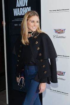 The Olivia Palermo Lookbook : Olivia Palermo at Letters to Andy Warhol exhibitio...