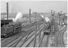 Shovelling at Bromsgrove (pjs Admiral Of The Fleet, Grey Wallpaper Iphone, Train Room, Steam Railway, British Rail, Water Tower, Steam Engine, Steam Locomotive, Great Britain