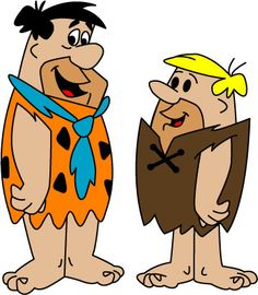 Fred Flintstone and Barney Rubble.  Fred's voice was performed by  Alan Reed, and Jackie Gleason, whose series The Honeymooners was said to be an inspiration for The Flintstones. Barney Rubble's was provided by voice actor Mel Blanc, though five episodes during the second season employed Hanna-Barbera regular Daws Butler while Blanc was incapacitated by a near-fatal car accident.