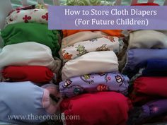 How To Store Cloth Diapers For Future Children