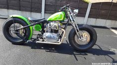 Xs 650 harley springer. Front end custom paint.  Brembo brakes.  Fenland choppers and many custom parts.  Submitted by Wayne