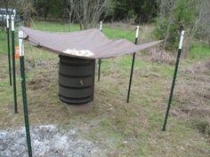The Prepper's Easy to Set-Up Rain Water Catchment System