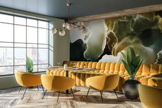 Living Room Interior, Scandinavian Style, Conference Room, Places, Modern, Table, Restaurants, Public, Furniture