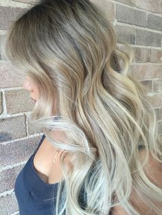 Blonde balayage on Asian hair // by Joel Walbank for Edwards And Co Sydney