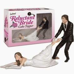 Funny Wedding Cake Topper - Fabulous Wedding Stuff