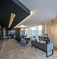 Découvrez les locaux CBRE à Londres , #bureaux #architecture #office