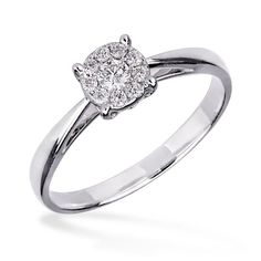 Inel de logodna cu diamant DIGV00775  Diamond engagement ring