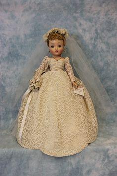 "21"" 1962 Madame Alexander Cissy Bride Doll All Original Tag Bouquet Excellent | eBay"