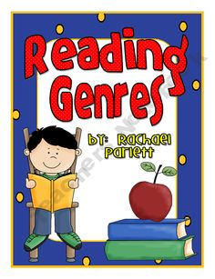 10 Reading Genre Posters product from The-Happy-Teacher on TeachersNotebook.com