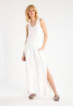 MYRTHA - Overall / Jumpsuit /Buksedragter - white @ Zalando. Overall Jumpsuit, White Jumpsuit, Jumpsuits, Overalls, Dresses, Fashion, Scale Model, Vestidos, Moda