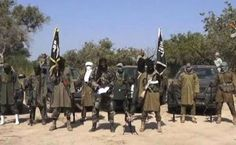 Boko Haram terror shows of weapons seized from soldiers after attack on african forces (Photos)