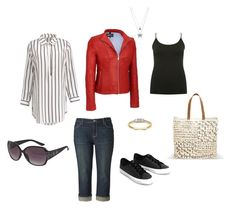 """""""Sightseeing"""" by inez-cph on Polyvore featuring Simply Vera, M&Co, MANGO, Avenue and plus size clothing"""