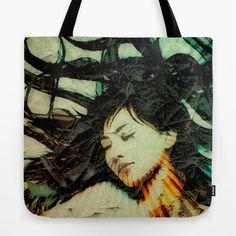 Girl's Dream in a Dream. Tote Bag