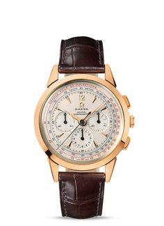 Relojes OMEGA: Specialities Museum - Oro rojo con Pulsera de piel - 516.53.39.50.02.001
