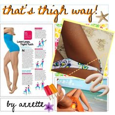 """""""thigh workouts"""" by healthy-tipgirls on Polyvore"""