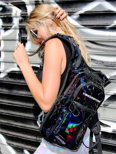 VIP Holla-Graphic Black Hydration Pack Use code Jas10 for 10% off your purchase at vibedration.com
