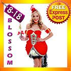 G24 Deluxe Red Queen of Hearts Alice In Wonderland Halloween Dress Up Costume