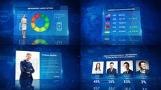 News Infographics Pack (News)  After Effects Templates #aftereffects