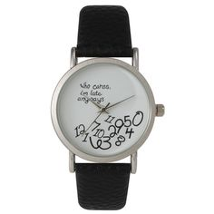 Olivia Pratt Women's Leather Care Free Watch