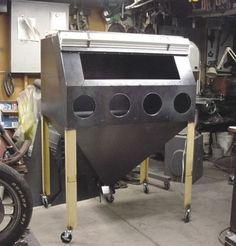 outdoor tv cabinet diy how to build Metal Working Tools, Metal Tools, Metal Projects, Welding Projects, Sandblasting Cabinet, Outdoor Tv Cabinet, Welding Shop, Restoration Shop, Welding And Fabrication