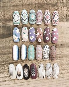have put together some of the finest nail art designs. You should definitely check them all out. Best Nail Art Designs, Gel Nail Designs, Beautiful Nail Designs, Colorful Nail Designs, Cute Nails, My Nails, Tribal Nails, Instagram Nails, Japanese Nails