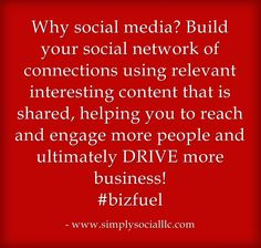 Why build your social network? Social Media Tips, Social Networks, Electric Field, How To Memorize Things, Feelings, Sayings, Business, Success, Facebook
