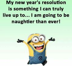 I think I can actually keep this resolution!!