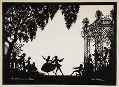 The Dance in the Park, Lottie Reiniger, National Media Museum, 1956