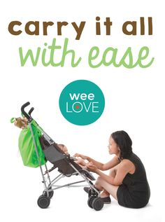 Between all the stuff babies need it can sometimes seem like the diaper bag is constantly overflowing... Enter Hamper Bag from 7AM Enfant.