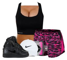 """."" by givealittlekiss ❤ liked on Polyvore featuring Pure Lime, NIKE, Rolex and Nike Golf"